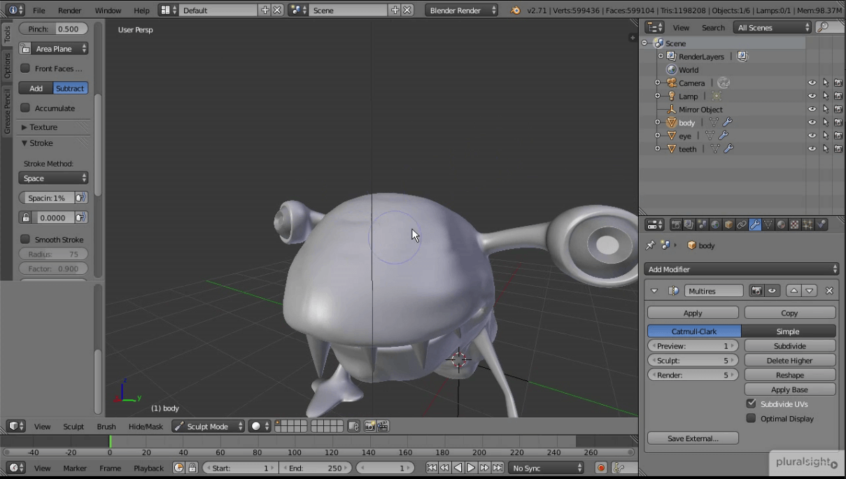 Your First Day in Blender Creature
